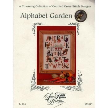 Abecedario del Jardín Sue Hillis L152 Alphabet Garden
