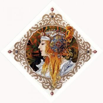 Dama Rubia (Mucha) Merejka K-141 Blond Maiden