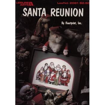 Reunión de Santas Leisure Arts 2061 Santa Reunion