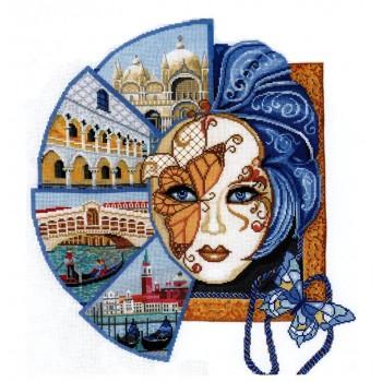 Máscara Veneciana Andriana B-29 Venetian Mask