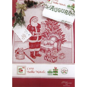 Paño de Cocina Carta a Santa Claus