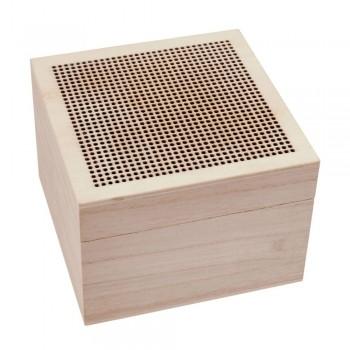 Cajita de Madera para bordar Trimits T1984 Trinket Box Wood
