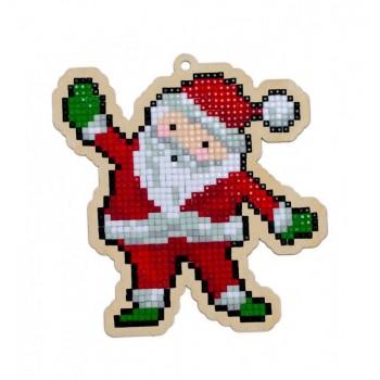 Santa Claus con Diamantes Wizardi wood WW309