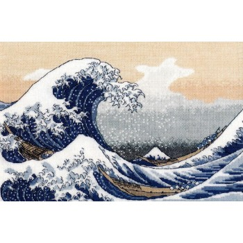 La Gran Ola en Kanagawa Oven 1255 Big Wave in Kanagawa de K. Hokusai
