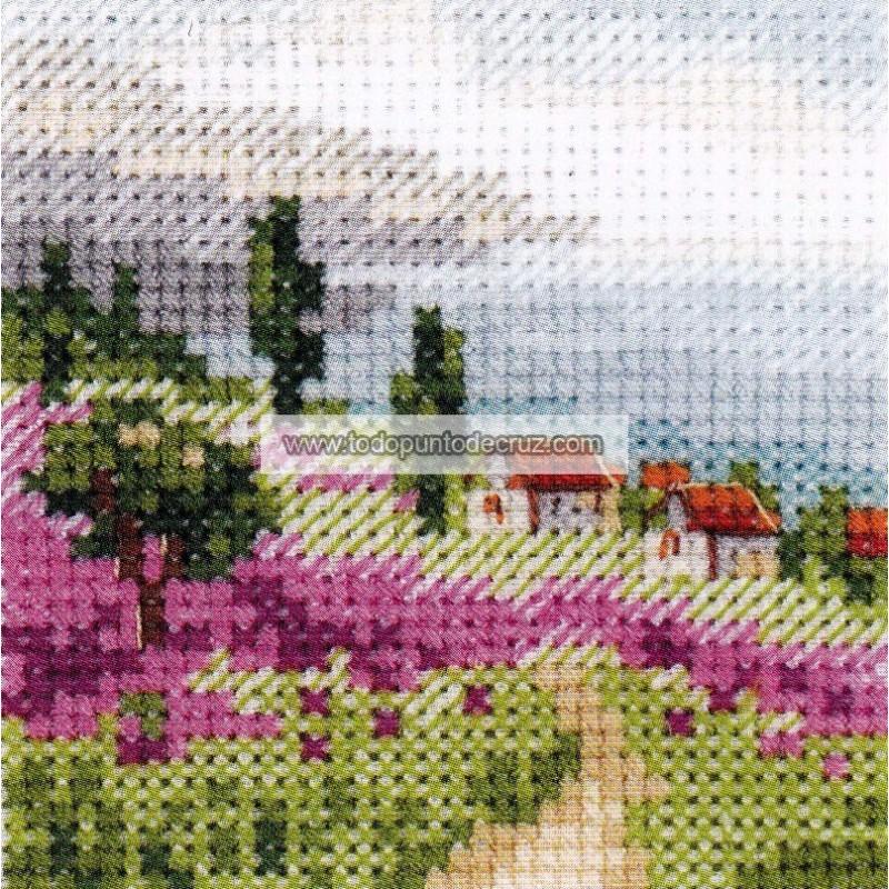 Lavanda Junto al Mar Alisa  0-200 Lavender Field by the Sea