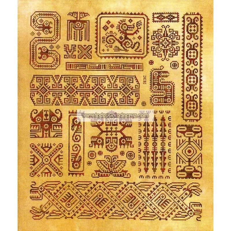 Madre Maya Ink Circles I16 Mother Maya