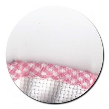 Tapas blancas de aida para Tarros