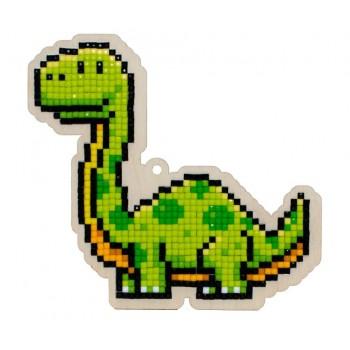 Dinosaurio Vega con diamantes Wizardi  WWP290 Dinosaur Vega
