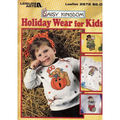 Decora tu Ropa Leisure Arts 2872 Holiday Wear for Kids
