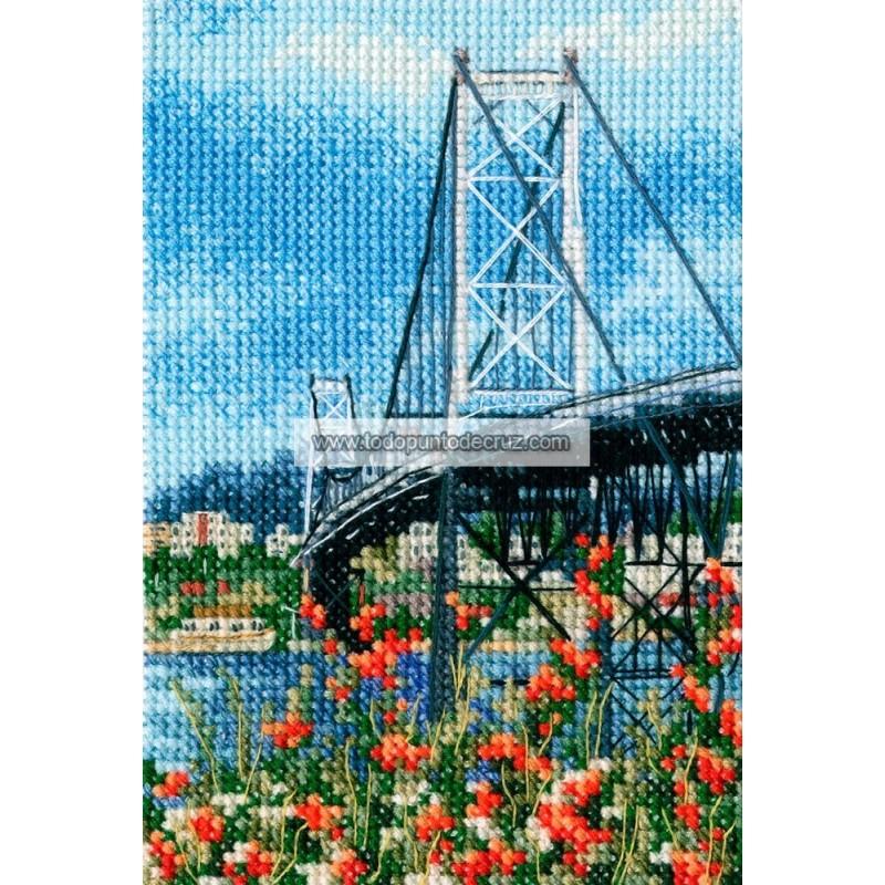 Puente Colgante Hercílio Luz RTO C306 Suspension Bridge Hercilio Luz