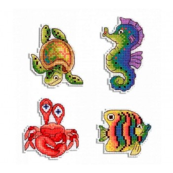 Imanes Animales Marinos MP Studia P-414 Sea Dwellers Magnets