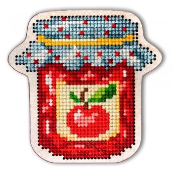 Imán Bote de Mermelada en Madera RTO EHW019 wooden Jam Jar