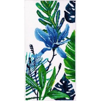 Flor Azul II RTO M748 Blue Flower