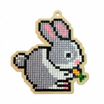 Conejito con diamantes Wizardi WW108 Rabbit