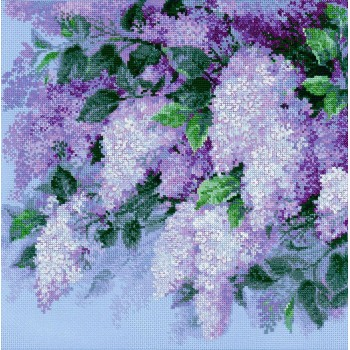 Lilas tras la Lluvia RIOLIS 1533 Lilac After the Rain