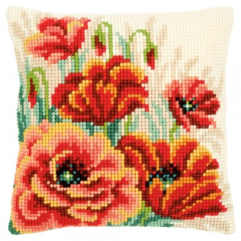Cojín Amapolas II Vervaco PN-0149724 Poppies II Cushion