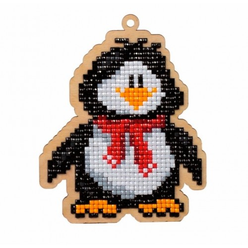 Pingüino con Diamantes Wizardi Diamonds WW129 Penguin Willie