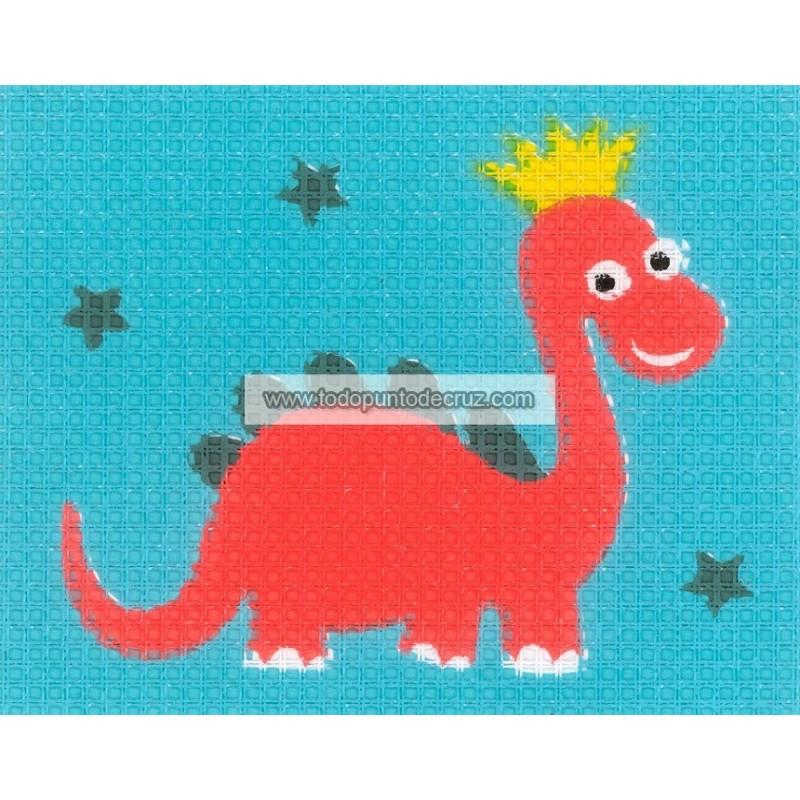 Dinosaurio (NP) Vervaco PN-0179599 Dinosaur Canvas