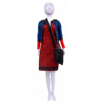 Dress Your Doll: Lizzy Leopard Vervaco PN-0183273 Outfit