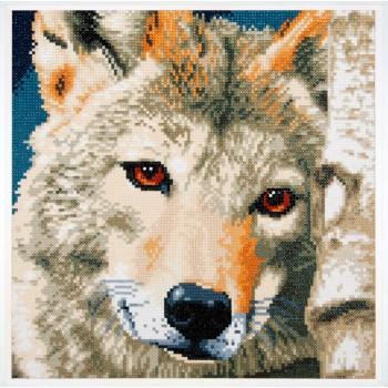Lobo con Diamantes Lanarte PN-0184321 Wolf