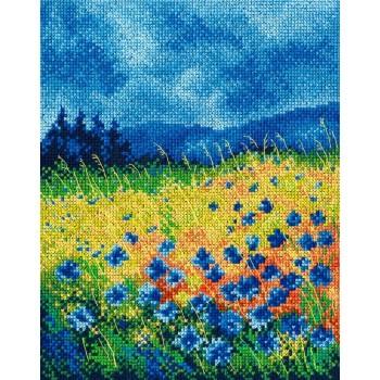 Cielo azul y Cornflowers RTO M625 Skyblue Cornflowers