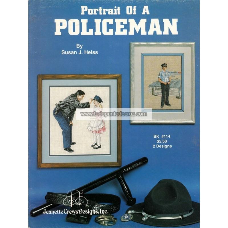 Retrato de un Policía Jeanette Crews 114 Portrait of a Policeman