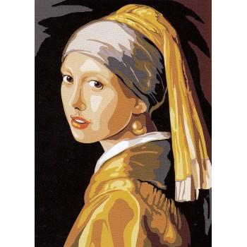La Joven de la Perla (NP) Seg de Paris 929.469 Jeune Fille la Perle Vermeer