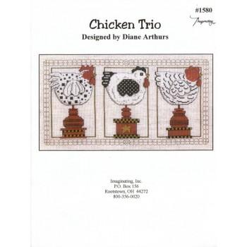 Trío de Gallinas Imaginating 1580 Chicken Trio