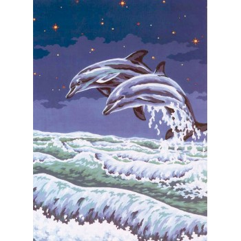 Delfines Saltando (NP) Collection D'Art 11497