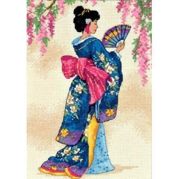 Geisha Elegante Dimensions 6953 Elegant Geisha