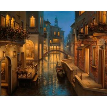 Atardecer en Venecia Collection D'Art DE5863 Warm Evening in Venice