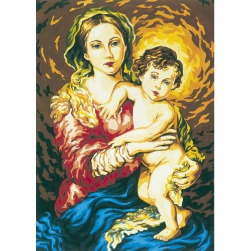 La Virgen con el Niño (NP)