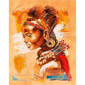 Mujer Africana Lanarte PN-0008009 African Woman
