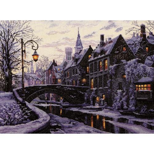 Anochecer Invernal