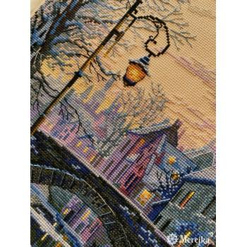 Anochecer Invernal Merejka K-169 Winter Evening