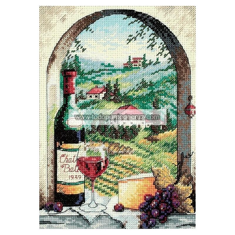 Soñando con la Toscana Dimensions 6972 Dreaming of Tuscany