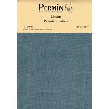 Tela lino 28 ct Permin 076-383 Mediterranean Sea