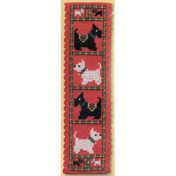 Marcapáginas Scotties & Westies Textile Heritage BKSW Bookmark