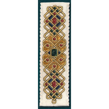 Marcapáginas Joya Celta Textile Heritage BKCJ Celtic Jewel Bookmark