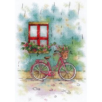 Bicicleta en el Patio MP Studia A-008 French Patio