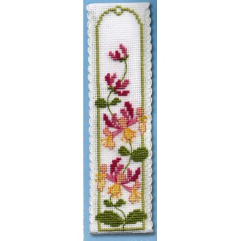 Madreselva marcapáginas Textile Heritage BKHN Honeysuckle bookmark