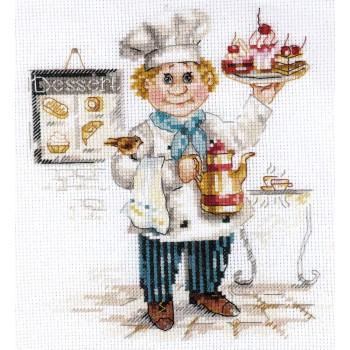 Maestro pastelero Alisa 6-12 Pastry Chef