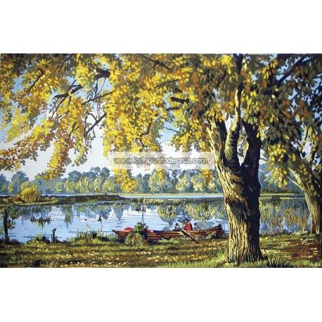Paisaje en el Lago Collection D'Art 12978