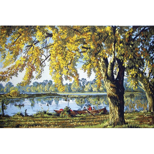 Paisaje en el Lago (NP)