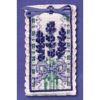 Bolsita lavanda victoriana Textile Heritage VLSA sachet victorian lavender