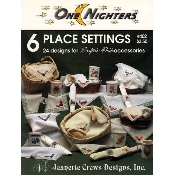 Jeanette Crews 402 6 place settings
