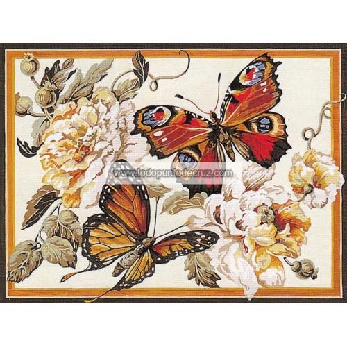Mariposas y Flores (NP)