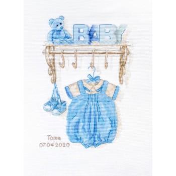 Natalicio Ropita de Bebé Niño Luca-S B1174 Baby Boy Birth