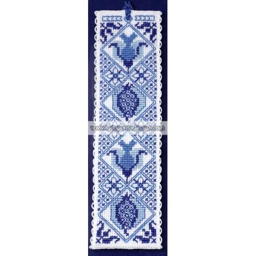Azul de Delft: Marcapáginas