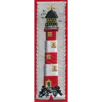 Marcapáginas Faro Textile Heritage BKLH Lighthouse Bookmark
